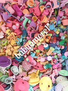 10 RANDOM Littlest Pet Shop AUTHENTIC Accessories CUSTOM Lot FOOD Toys CLOTHING