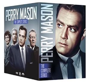PERRY MASON: THE COMPLETE SERIES Seasons 1 - 9 BOX SET