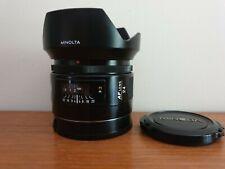 SONY MINOLTA 24mm F 2.8 SONY A MOUNT LENS