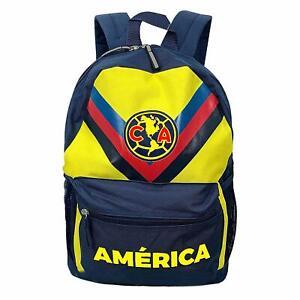club america backpack soccer mochila bookbag official authentic licensed bag A7