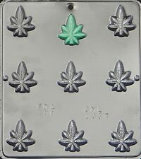 Marijuana Leaf Pot Leaf Bite Size Chocolate Candy Mold 1337 NEW