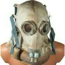 Soviet Polish Rare  SR-1 HEAD WOUNDED SR1 GAS MASK Very scare and creepy one.