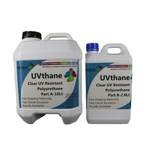 Polyurethane Crystal Clear UV Resistant UVthane In&Out Door Coating Easy DIY