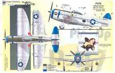 Aztec Decals 1/72 REALISTIC P-47 THUNDERBOLT PIN-UP JUGS