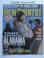 NEW COUNTRY MAGAZINE - June 1997 - Alabama / Paul Brandt / Wynonna