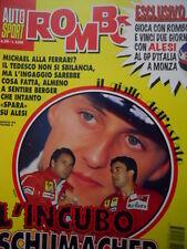 Auto & Sport ROMBO 30 1995 Michael Schumacher alla Ferrari - Incubo Berger Alesi
