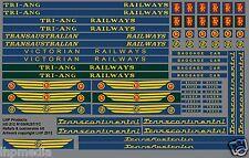 TRIANG RAILWAYS TRANSCONTINENTAL TC R159 R257 LOCO & COACH REFURB KIT LHP HD212