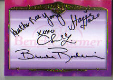 2012 Benchwarmer  Vegas Bambi, Brande Roderick Autographs 16/25