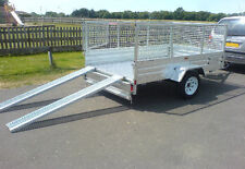 UTILITY/QUAD BIKE TRAILER 8' x 5' FOR HIRE, BASED IN EAST SUSSEX