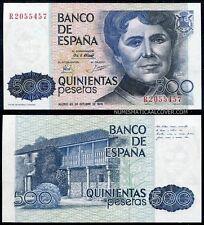500 pesetas año 1979 Rosalia de Castro  S/C - SPAIN Pick 157  UNC