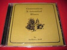 GENERATION X-ISENTIAL BLUES - ANTHONY NEFF - CD
