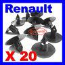 RENAULT WHEEL ARCH LINER SPLASH GUARD TRIM SPRUCE CLIPS FIR TREE 35mm TOP HEAD