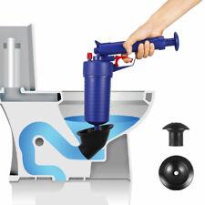 Air Pump Toilet Sink Drain Plunger Bath & Shower Pipe Unblocker Blockage Unblock