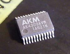 AK4309AVM 1bit stereo DAC for multimedia audio systems, AKM