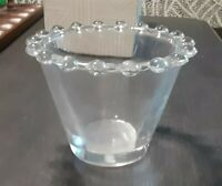 Vintage BOOPIE Glass, Small Clear Glass Bowl SERVING PIECE