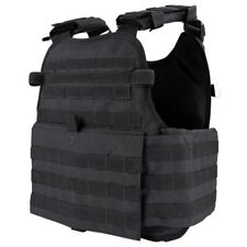 CONDOR BLACK MOLLE Operator Plate Carrier Body Armor Chest Assault Rig Vest MOPC