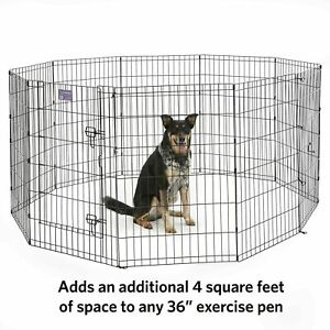 Brand New  MidWest Homes for Pets Accessories 36H-Inch Pen Extension Panel