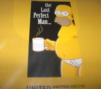 The Simpsons Badehandtuch Strandtuch Homer The Last Perfect Man  Neu,OVP,Lizenz