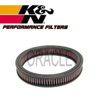 K&N HIGH FLOW AIR FILTER E-1280 FORD FIESTA I 1.6 XR2 84 BHP 1981-83