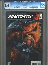 Ultimate Fantastic Four #21 CGC 9.0 (2005) 1st FF Zombies