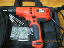 Black & Decker 3/8 In Drill 5.2 Amps Dr260