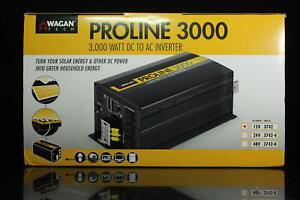 Wagan Tech Pro Line 3000-Watt/6000-Watt Inverter