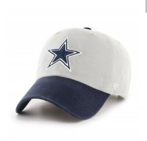 Dallas Cowboys '47 Brand Mens clean up hat cap new blue gray NFL adjustable