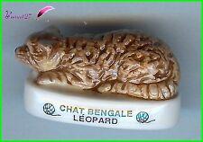 """Feve Les Races de Chat Cat Edition Atlas """" Le Bengale Leopard """"  #A2"""