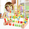 Wooden Education Baby Toddler Toys Circle First Bead Maze for Boys