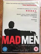 John Hamm Slattery MAD MEN: SEASON 1 ~ 2007 Mid-Century US Drama Series UK DVD