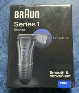 Braun Series 1 130s-1 Mens Electric Mains Only Trimmer Shaver SmartFoil Washable