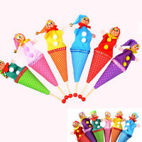 Clown Puppet Toy Baby Educational Pop Up Doll Styles Random  cp
