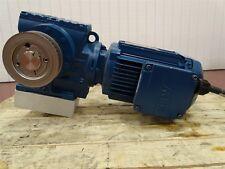 Sew-Eurodrive SA57DRE80M4 Gear Motor 1HP 1740RPM 3PH 60HZ 2.9/1.44A