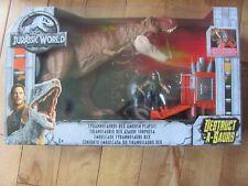 Jurassic World T-Rex TYRANNOSAURUS REX Ambush Playset Destruct-A-Saurs NEW