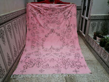 Vintage Moroccan Handmade Wool Beni ourain Rug Berber Tribal Carpet