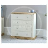 ASSEMBLED MANY COLOURS AVAILABLE HANDMADE COUNTRY 2 DRAWER BEDSIDE SET