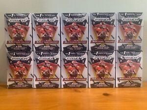 SAN FRANCISCO 49ERS 2021 PRIZM DRAFT PICKS 10 BLASTER BOX 1/2 CASE BREAK #3