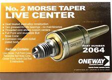 Oneway Morse Taper (MT2) Live Center (OW-2064)
