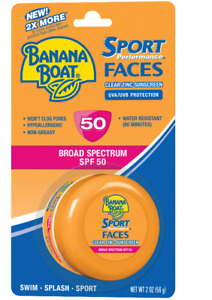 Banana Boat Sport Performance Face Clear Zinc Sunscreen Lotion PACKAGING VARY