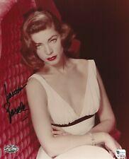 Lauren Bacall Signed 8x10 Photo Psa/Dna Coa Picture Autograph The Big Sleep Fan