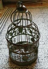 Small metal decorative birdcage
