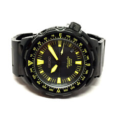 SEIKO LAND MONSTER Auto date 20BAR size 45mm Black color dial display date