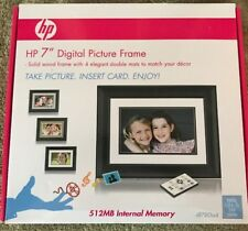 "NEW HP 7"" Digital Picture Frame 512MB Internal Memory Model df780a4"