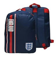 Team Football England Large Stylish Comfortable Backpack Size H38 x W28 x D16 cm