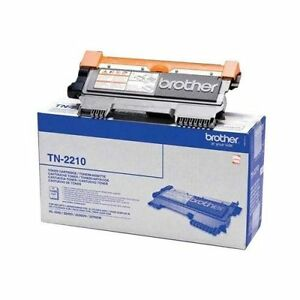 Genuine Brother TN2210 Black Laser Toner Cartridge for Printers-With Warranty