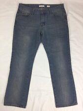 1688 Revolution 34x32 Mens Denim Blue Jeans Pants Euc 34/32 Bottoms Zipper Fly