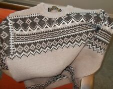 Nordstrikk Virgin Schur Wool Sweater Fair Isle Ski Sweater Norway S/M