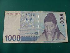 S Korea 1000 Won 2007