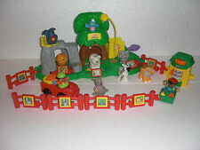 LOT ZOO LITTLE PEOPLE FISHER PRICE + BABY ZOO REF  77949 + 77984