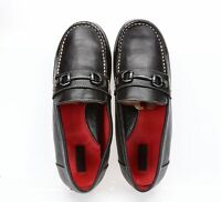 Cole Haan Women Brown Leather Cory Bit 2 Slip On Loafers Casual Shoes Size 5